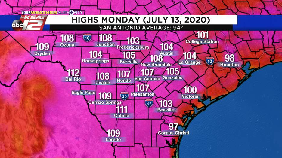 Monday Was San Antonio S Hottest Day In Seven Years