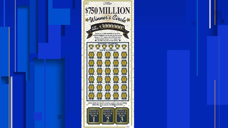 Texas Lottery® scratch ticket game $750 Million Winner's Circle