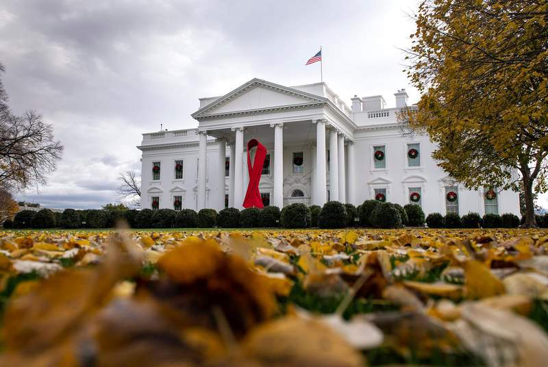 The White House in Washington, D.C., on Dec. 1, 2020. (Credit: Kevin Dietsch/Sipa USA via REUTERS)