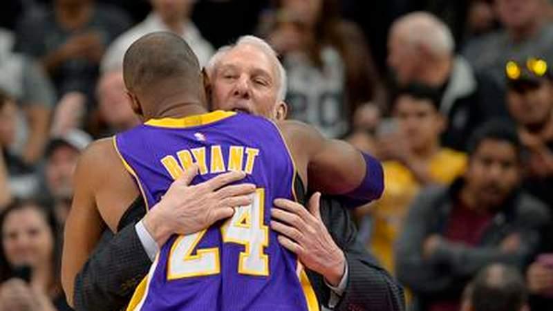 Gregg Popovich remembers Kobe Bryant