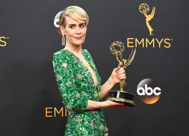 """Sarah Paulson won the Emmy for playing Marcia Clark in """"American Crime Story."""""""