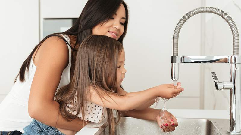 Wash your hands often with soap and water for at least 20 seconds.
