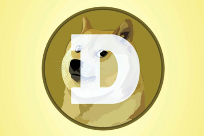 """This mobile phone app screen shot shows the logo for Dogecoin, in New York, Tuesday, April 20, 2021. Dogecoin, the digital currency advertised as the one """"favored by Shiba Inus worldwide,"""" is having its day. Fans of the cryptocurrency are touting April 20, long an unofficial holiday for marijuana devotees, as """"Doge Day"""" and imploring each other to get its value up to $1. (AP Photo/Richard Drew)"""