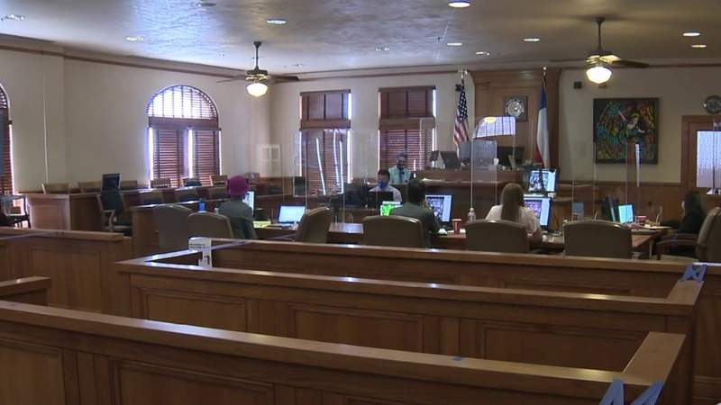 Jury trial schedule for Bexar County released