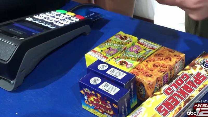 Firework availability will be different this Fourth of July in the San Antonio area