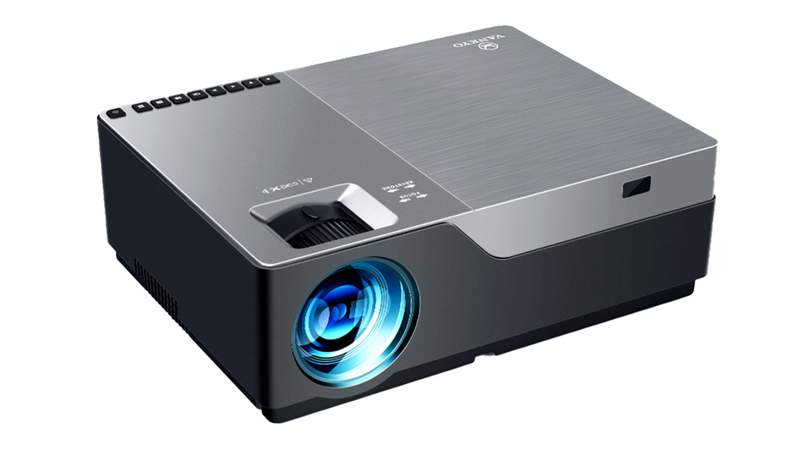 View crisp HD resolutions movies on this VANKYO projector