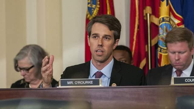 Texas Democrat Rep. Beto O'Rourke