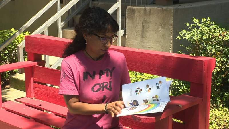 Author living in public housing writes and publishes book on self-esteem