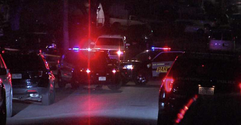 A search is still underway for a suspect that held a pizza delivery driver at gunpoint and stole his vehicle overnight, according to San Antonio police.