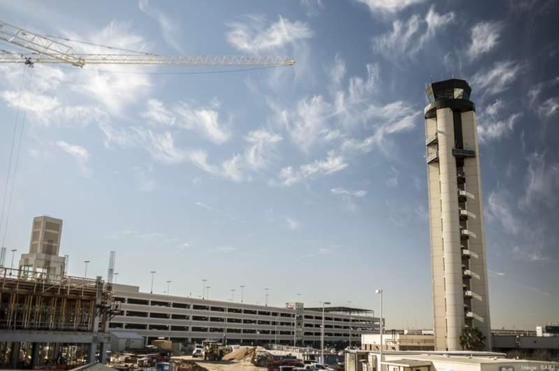 San Antonio International Airport.