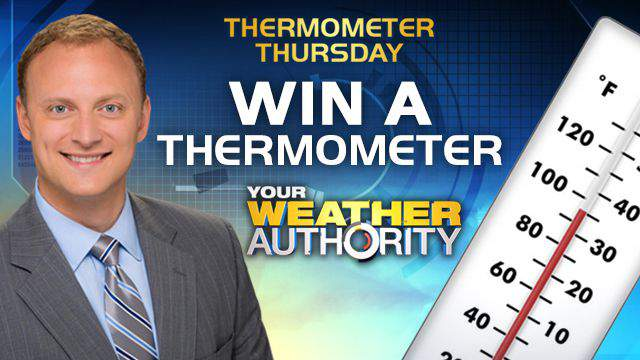 Adam Caskey Thermometer Thursday