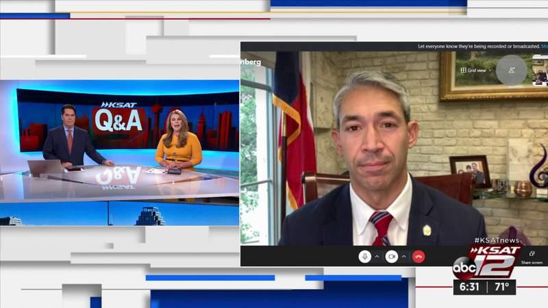 KSAT Q&A: San Antonio mayor discusses area unemployment resources, COVID-19 and Fiesta changes