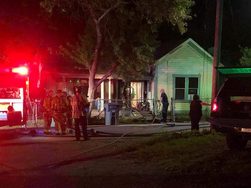 SAFD: Two residents, dogs escape safely from North Side house fire