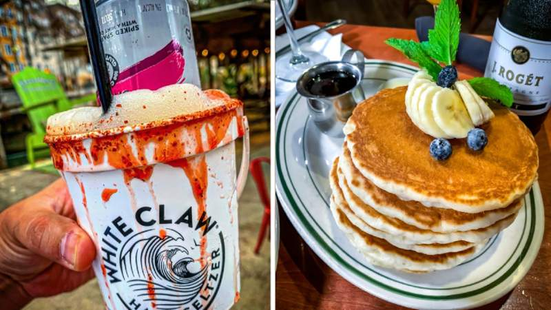 Texas Eats Season 2, Episode 21: White Claw, Pancakes and Brunch