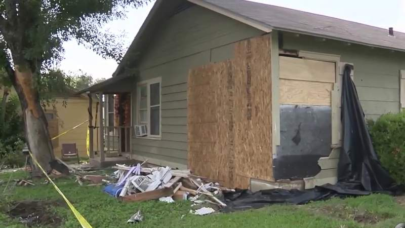Neighbors hope city addresses problematic curve after SUV crashes into home, injuring child