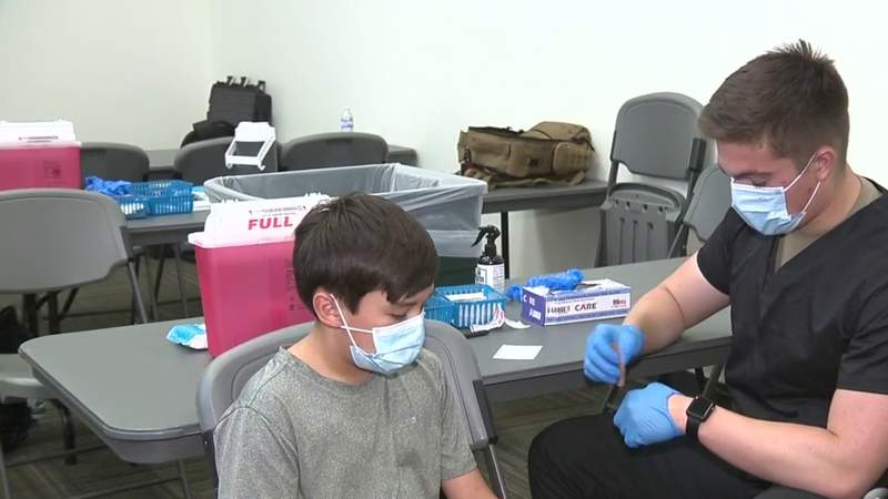 Uvalde County health officials push vaccine education as infections rise