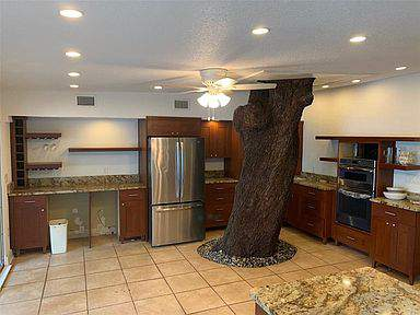 Tree in kitchen on Zillow