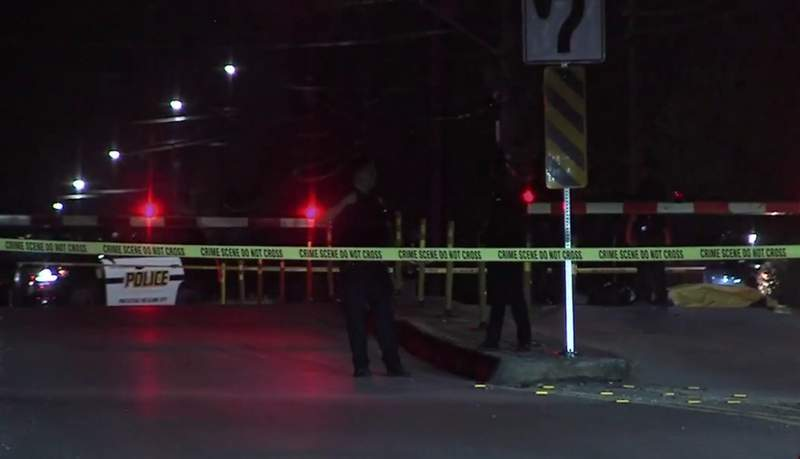 (Train fatal accident on West Hutchins Place.)