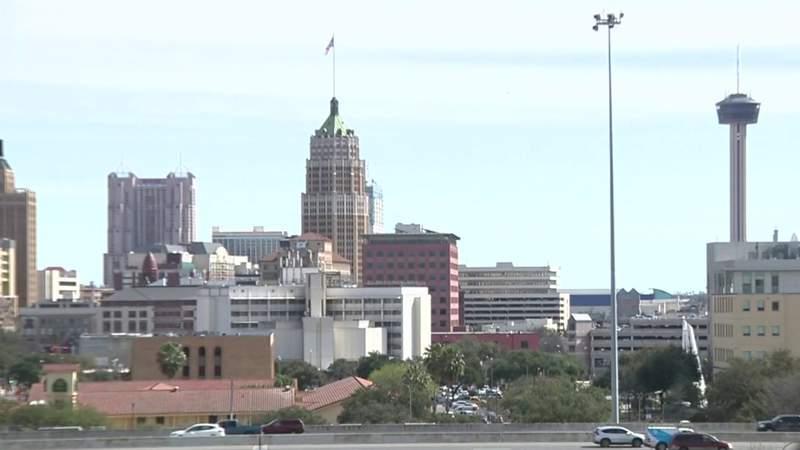 City of San Antonio skyline. (File)
