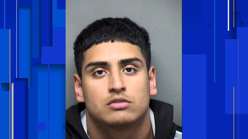 Mason Alverado, 19, has been charged with murder, online booking records show. His bond has been set at $200,000.