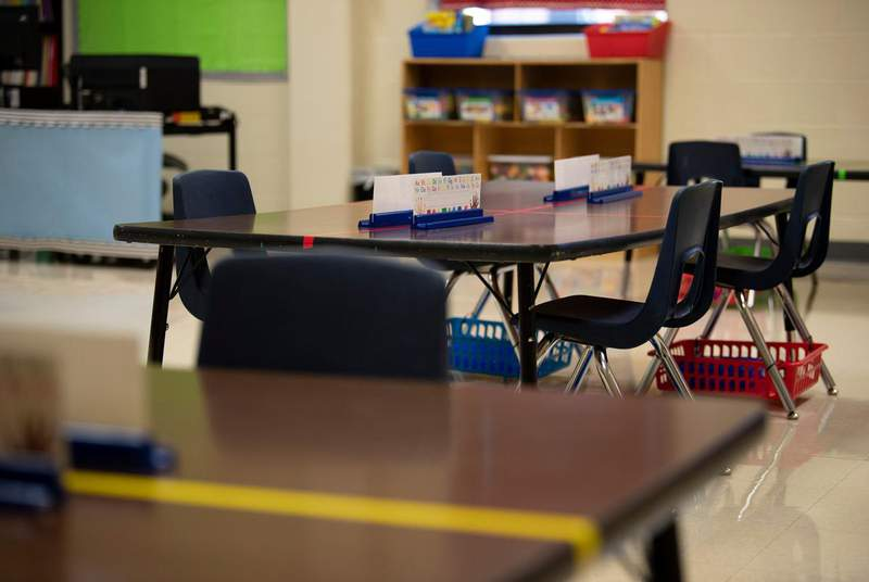 Closed classrooms and remote learning have left many Texas school students dealing with mental health issues including loneliness, depression and thoughts of suicide. (Credit: Allie Goulding/The Texas Tribune)