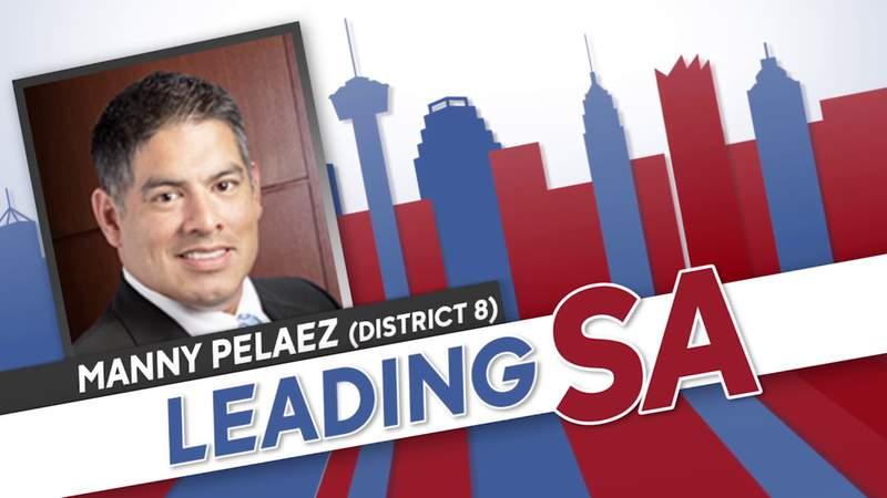 Leading SA: District 8 Councilman Manny Pelaez