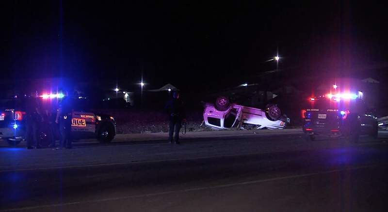 Three juveniles are in San Antonio police custody after officers said they were lead on a high-speed chase overnight.