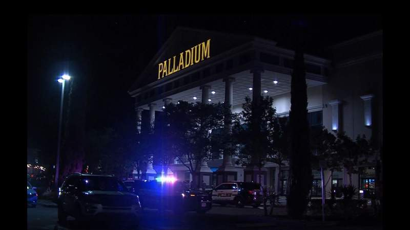Woman stabbed multiple times while leaving the Palladium movie theater, police say