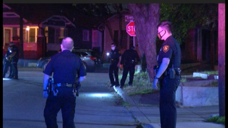 Investigation underway after man is fatally shot while riding bike just north of downtown