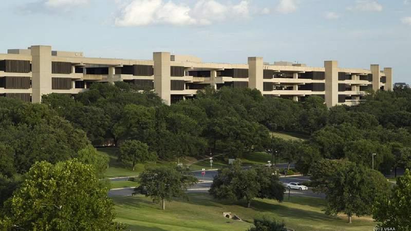 USAA's campus in San Antonio.