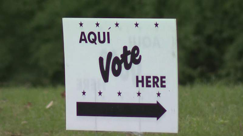 Voting sign (File)