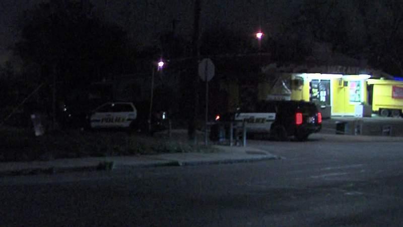 Officials said a man was held at gunpoint and carjacked near Cincinnati and N. Navidad streets, late Saturday night.