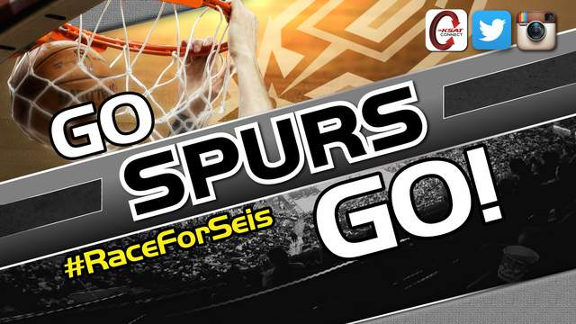 Go Spurs Go - Race for Seis. #raceforseis social media