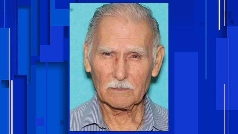 The San Antonio Police Department is asking for the public's help in locating 84-year-old Ambrosio Ruiz Saenz.