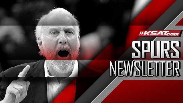 (Spurs newsletter Gregg Popovich image)
