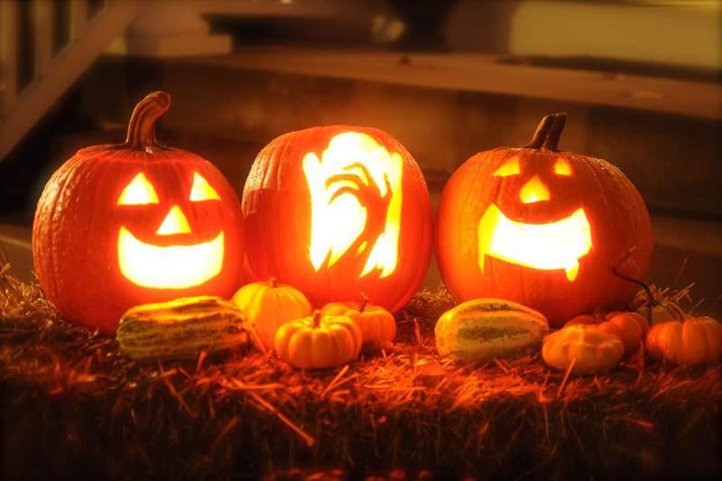 Generic image of Halloween pumpkins.