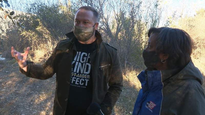 San Antonio man recounts rescuing woman from fire in homeless camp