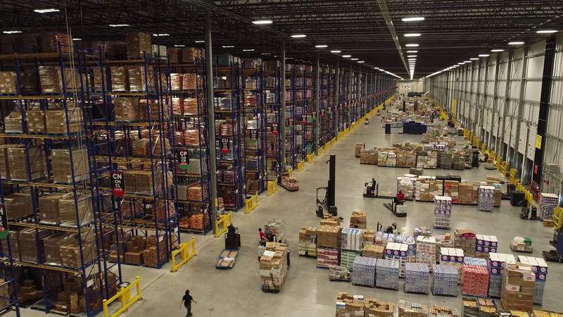 H-E-B warehouses are full, officials ask customers not to panic