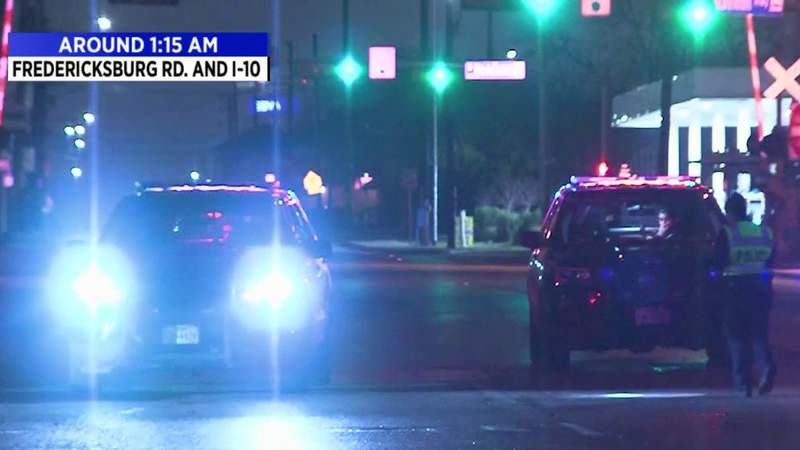 Man critically injured after hit by car while crossing Fredericksburg Road