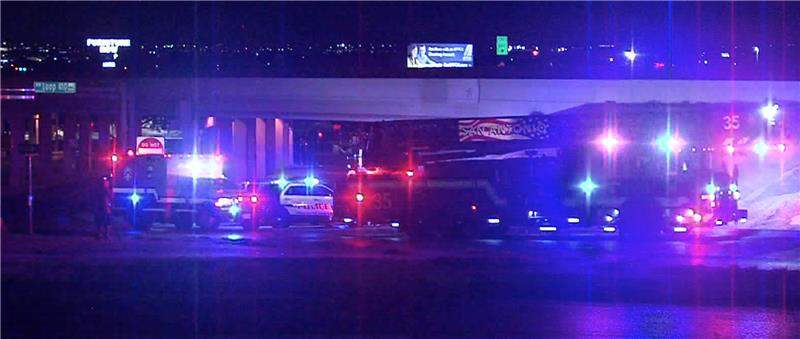 One person is in serious condition after San Antonio police say a vehicle was pulled over for going the wrong way on Interstate 410 early Sunday morning.