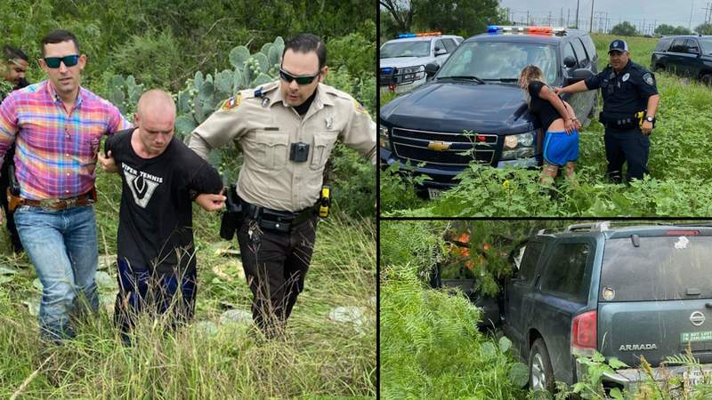 Wrong-way driver arrested in Atascosa County after 100 mph chase involving 20+ law enforcement vehicles