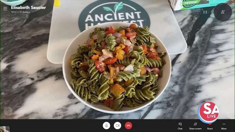 Grilled veggie pesto pasta | SA Live | KSAT 12