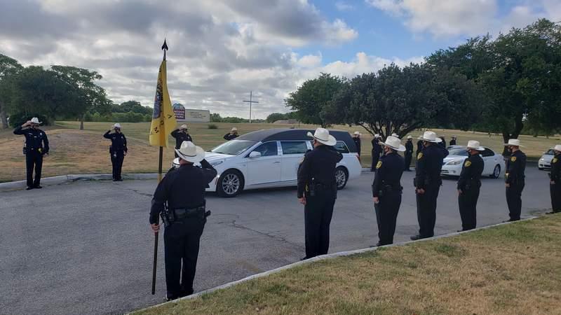 Funeral procession for Sheriff Deputy Timothy De La Fuente