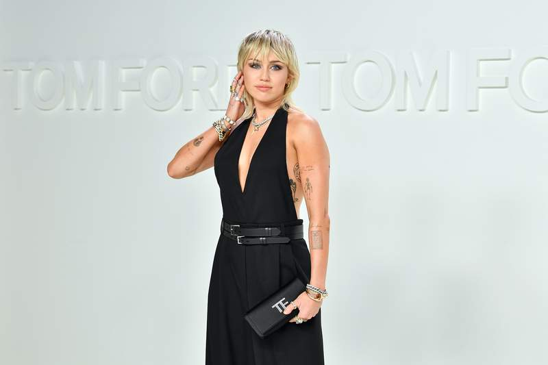 Miley Cyrus in February. (Photo by Amy Sussman/Getty Images)
