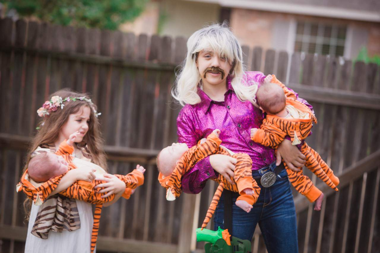 San Antonio family wins Halloween with cutest 'Tiger King' costumes you'll see this year