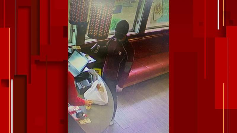 A man robbed an IHOP restaurant in Kerrville on Sept. 21.