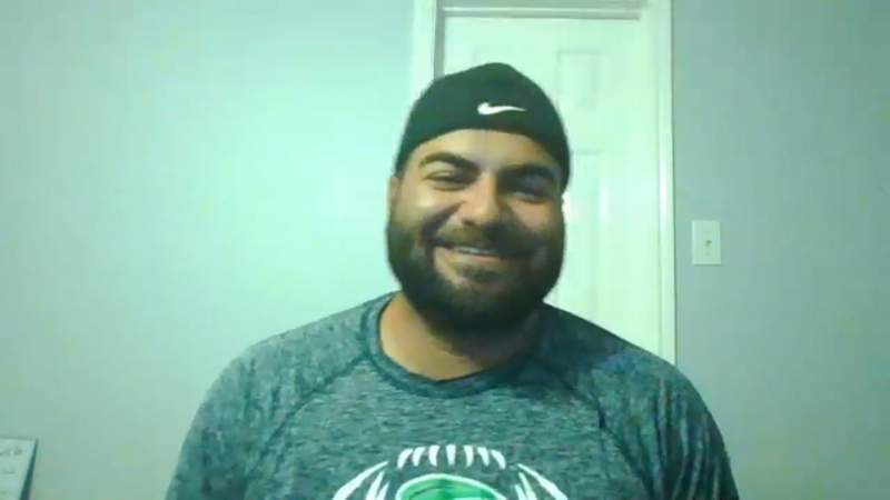 """Marco Regalado, also known as """"The TikTok Coach,"""" talks about his social media popularity during quarantine that helped land a new job near Ft. Worth."""
