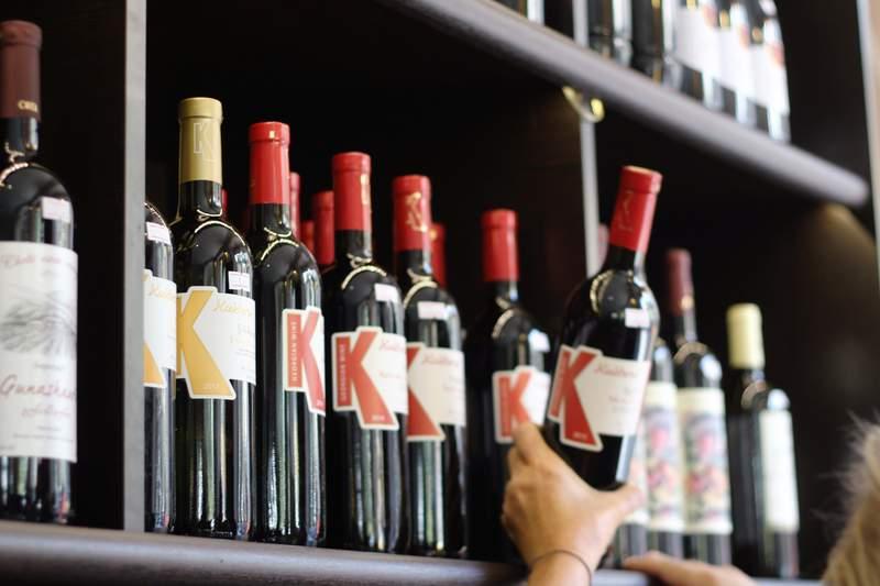 Generic wine stock photo.