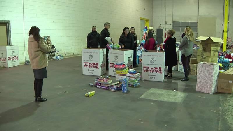 GF Default - City of San Antonio delivers Toys for Tots donations
