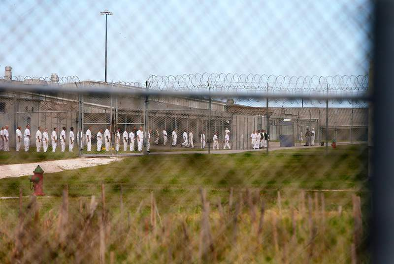 The Texas Department of Criminal Justice has not said when or how inmates will be vaccinated against the coronavirus. (Credit: Jennifer Whitney for The Texas Tribune)
